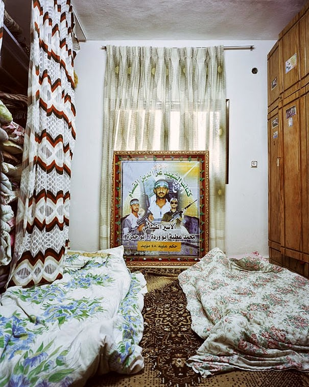 16 Children & Their Bedrooms From Around the World - Douha, 10, Hebron, The West Bank - Gaza - Palestine - Douha's Room