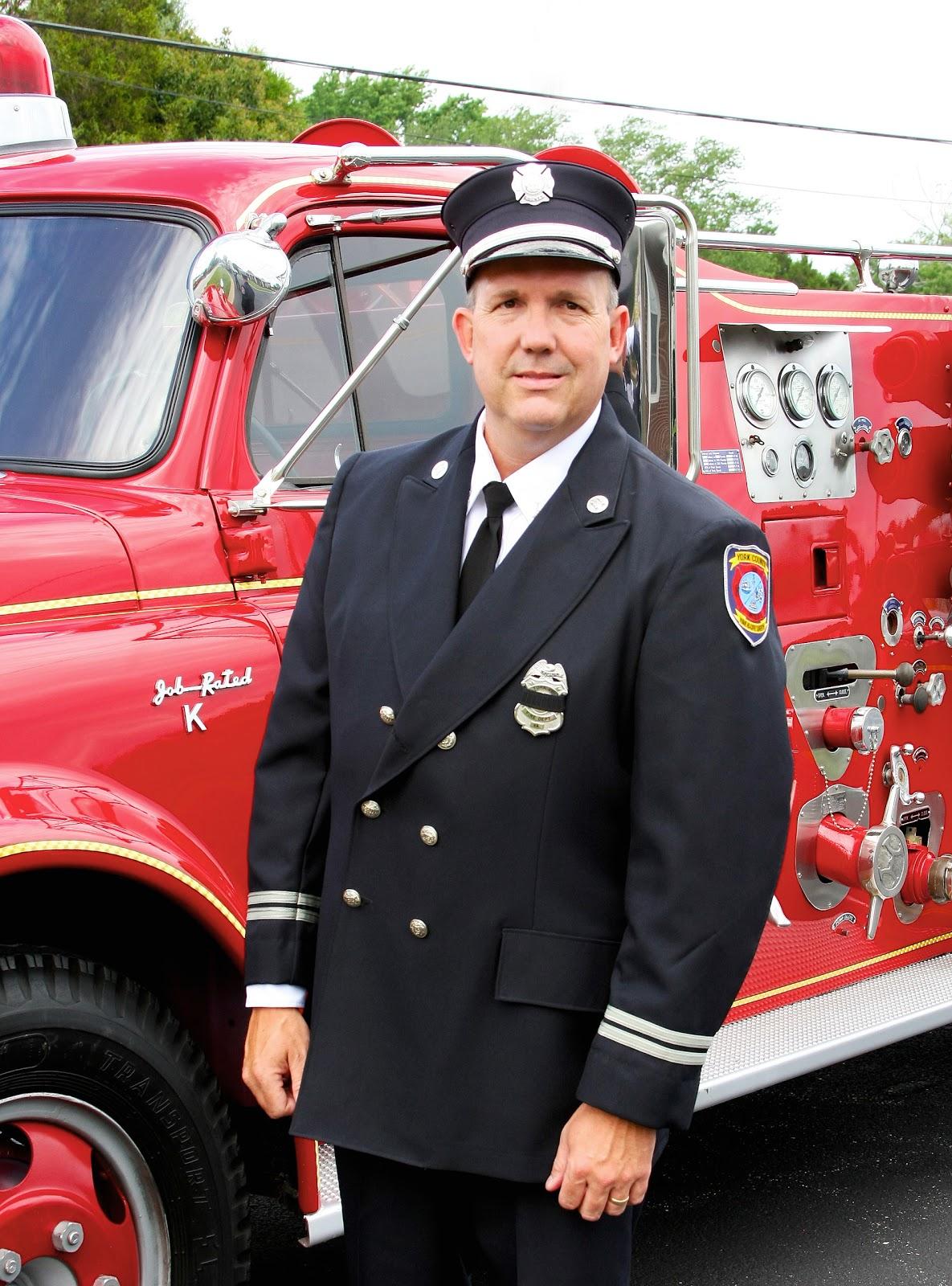 Firefighter Class A Dress Uniform