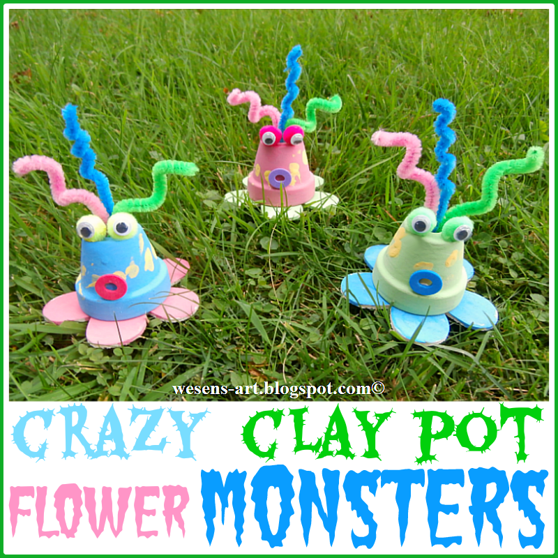 ClayPotMonsters   wesens-art.blogspot.com