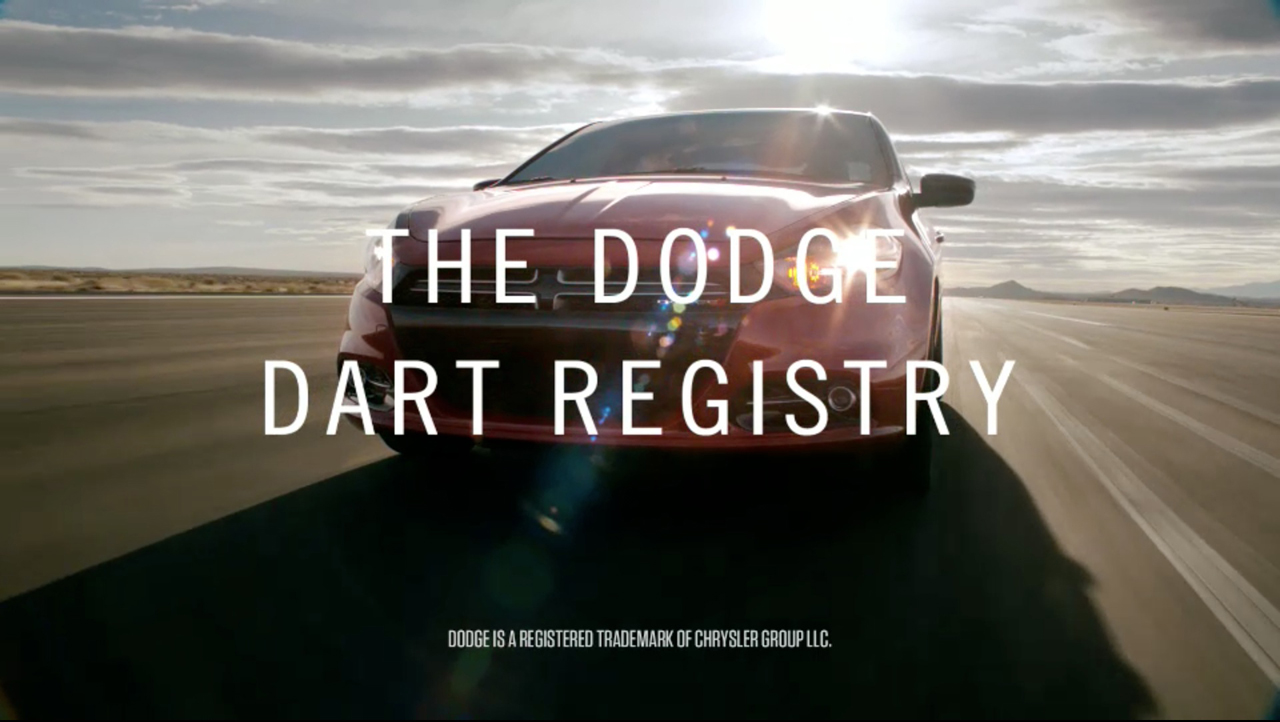 Dodge Dart Registry Photos