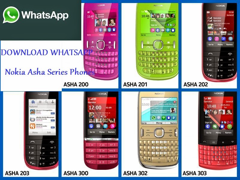 asha 202 whatsapp application free download