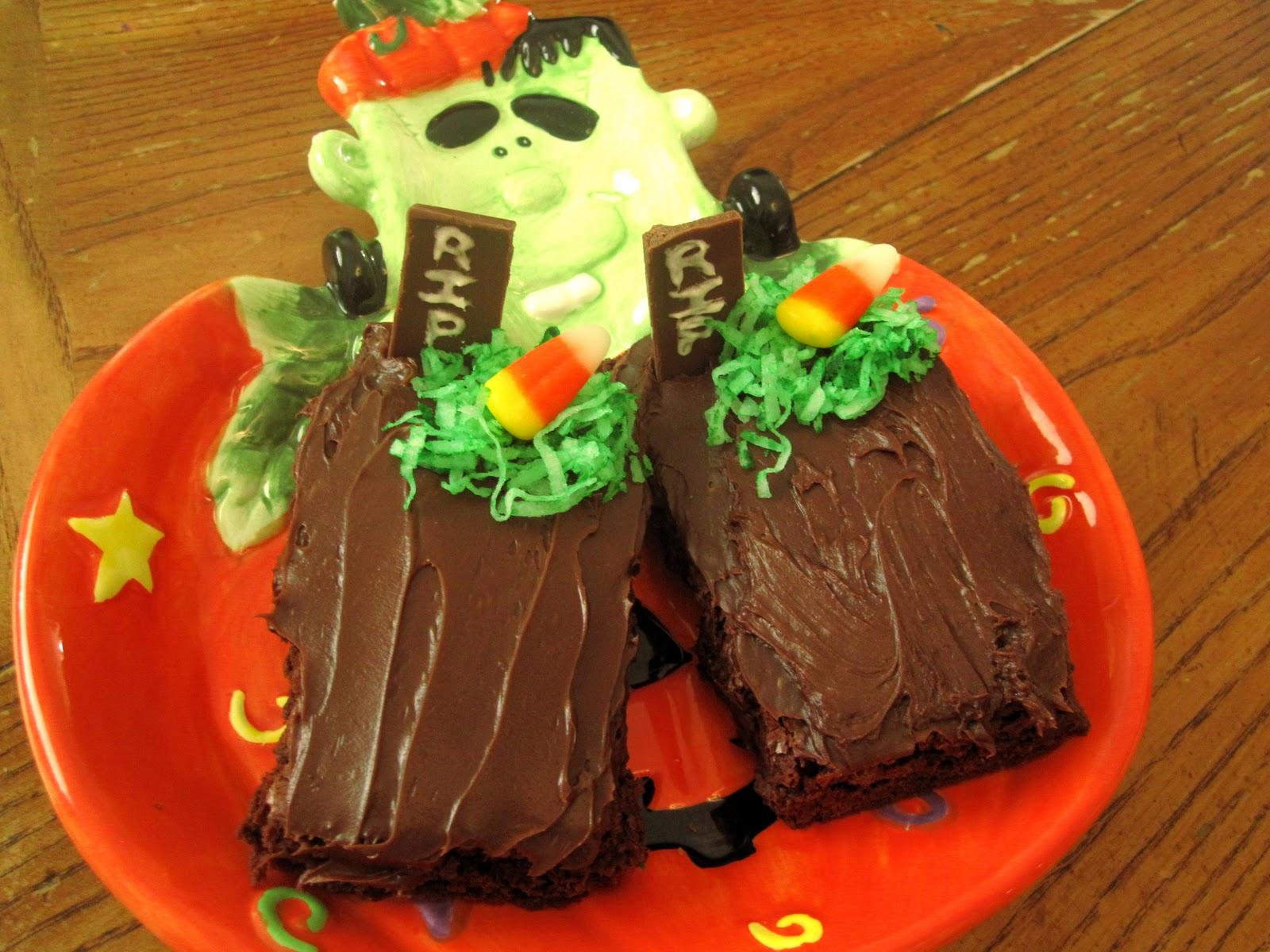 Tombstone Brownies Easy tombstone brownies