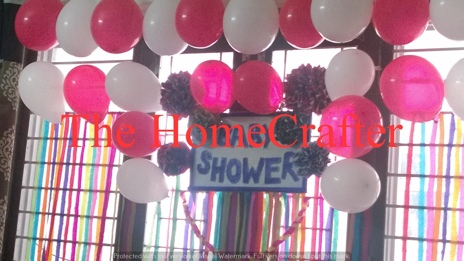The Home Crafter DIY Baby Shower Decoration