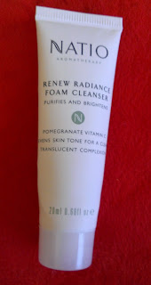 Natio Aromatheraphy Renew Radiance foam cleanser review