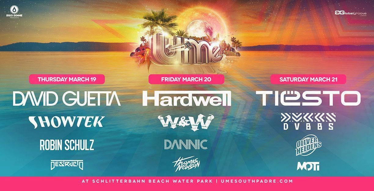 Disco Donnie UME Line Up 2015