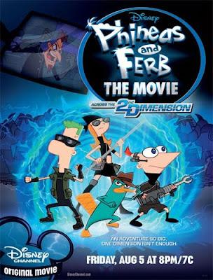 Ver Phineas y Ferb La Película: Atraves de la segunda dimensión Película (2011)