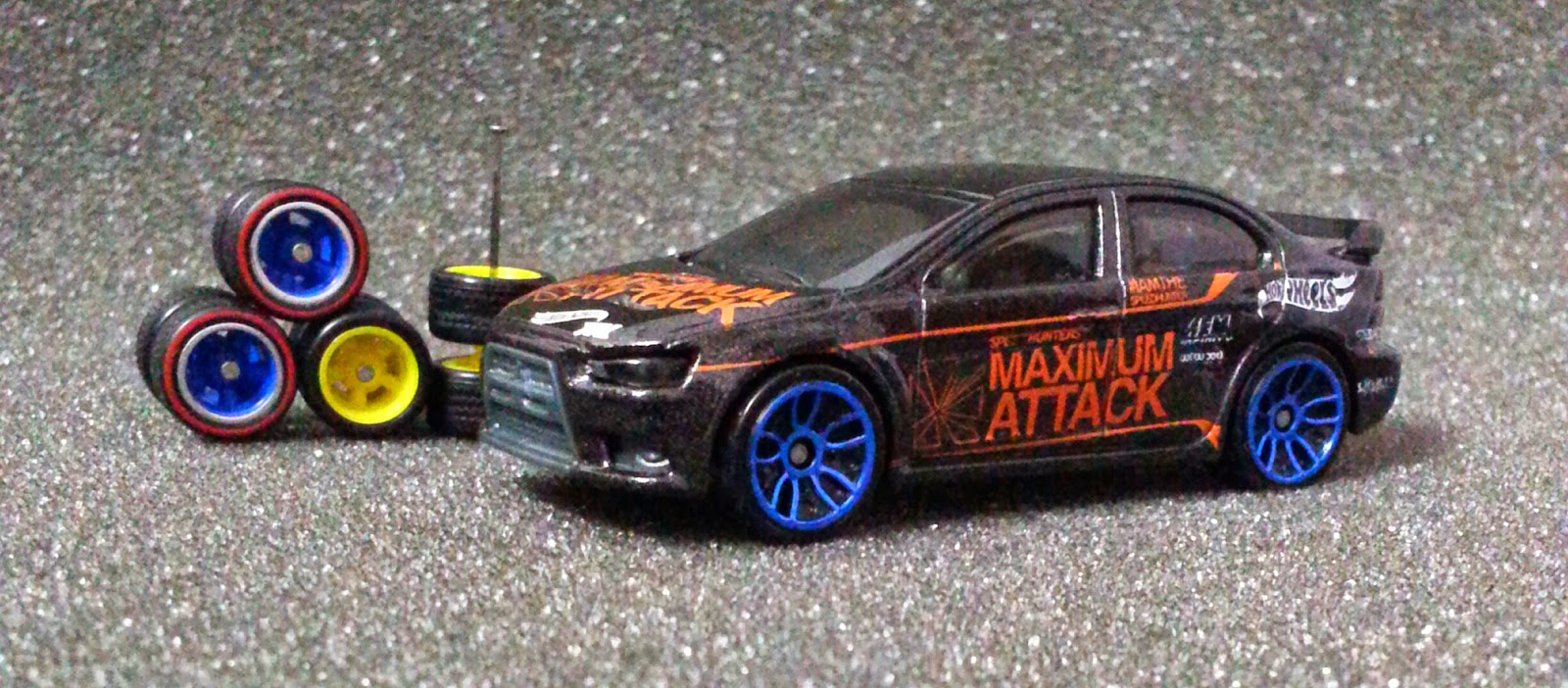 World of Small Car / Dunia Kereta Kecil #: Hot Wheels; Mitsubishi ...