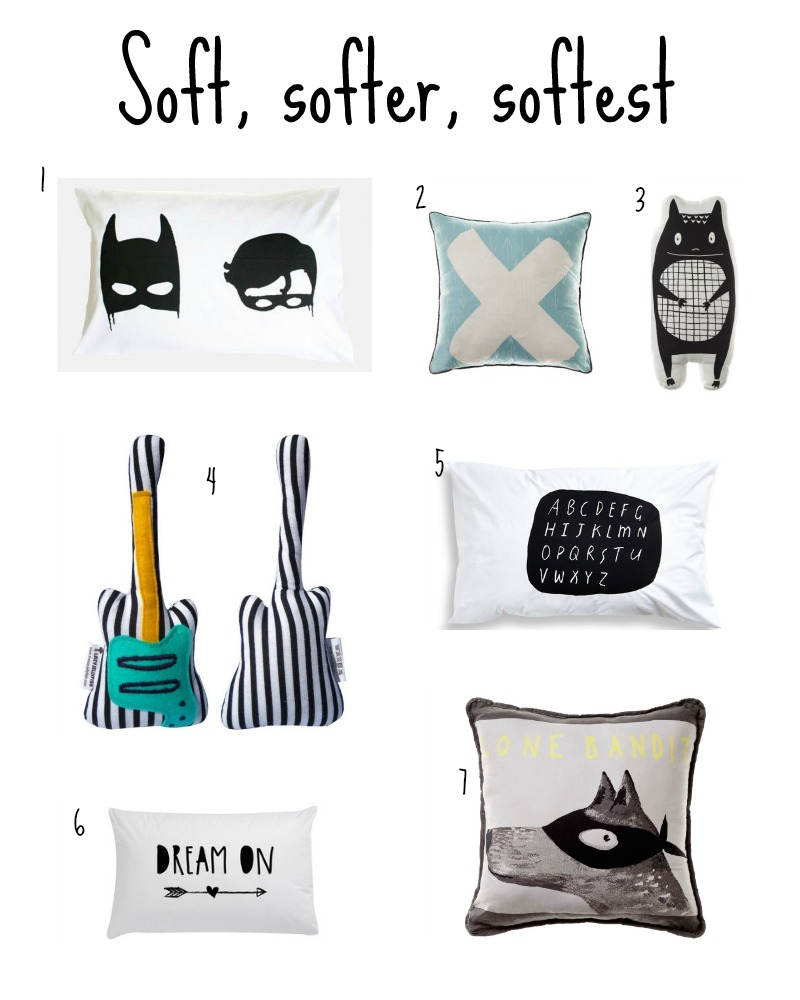 Must-haves for the newborn baby - Soft toys and cushions