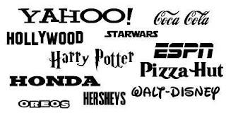 Ünlü markaların yazı fontları