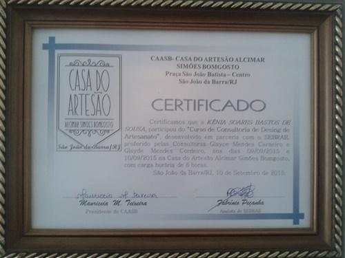 CAASB - Casa do Artesão Alcimar Simões Bomgosto.
