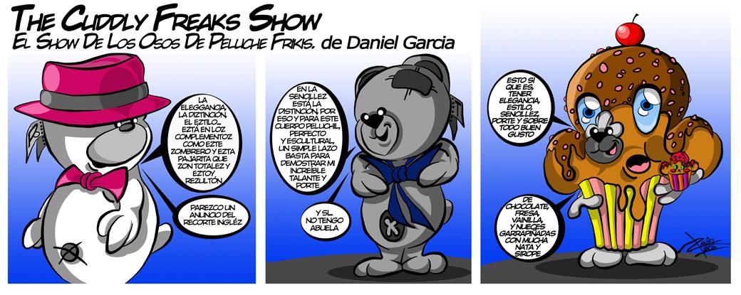 The Cuddly Freaks Show Tira 26 - Elegancia y gustos personales
