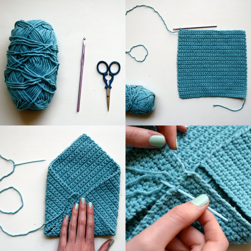 Crocheting Step By Step : My crochet hat: STEP BY STEP CROCHET HAT