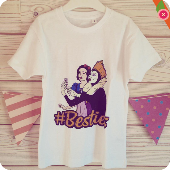 t-shirt #Besties 6 - Rad.co