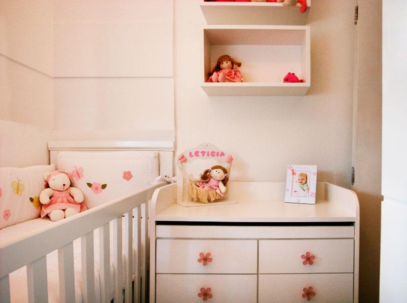 Decoração de quarto de bebê meninas