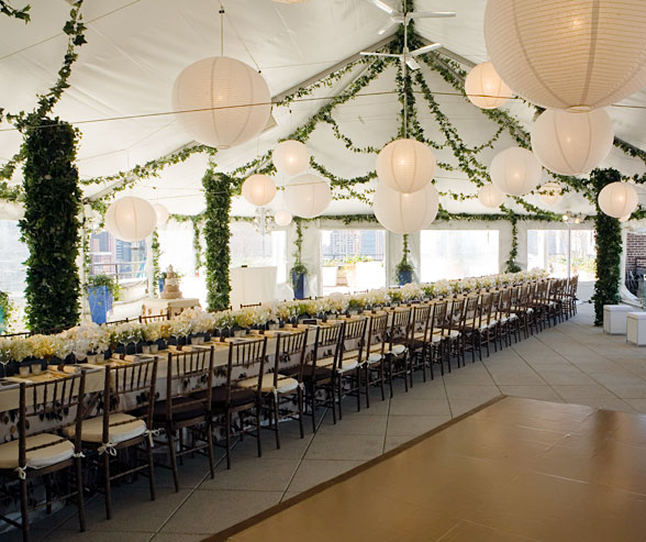 & deversdesign: How to Decorate a Wedding Tent