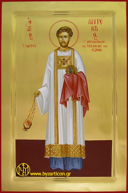 Saint Lawrence of Rome as a Model for our Lives