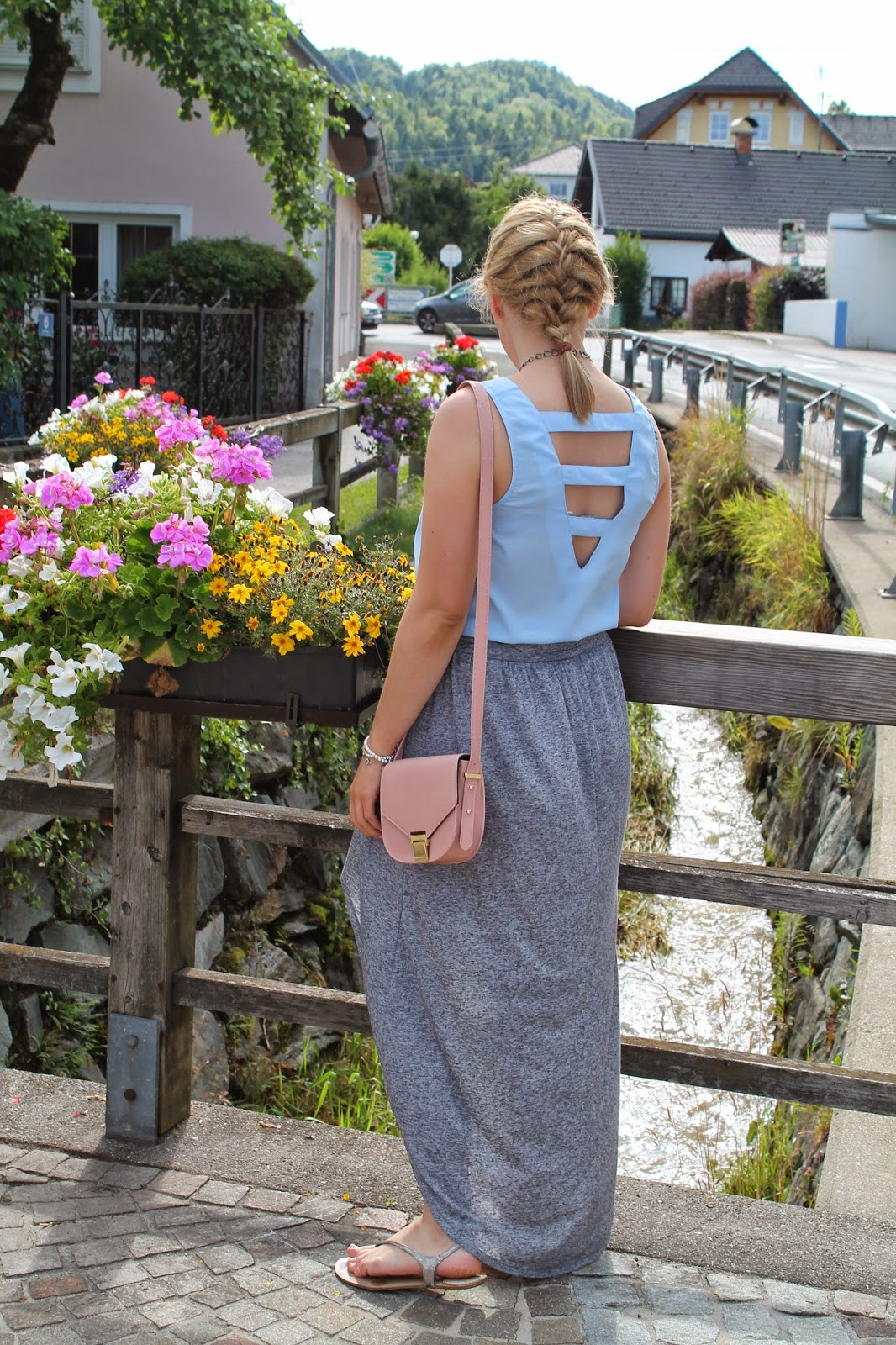 Fashionblogger Austria / Österreich / Deutsch / German / Kärnten / Carinthia / Klagenfurt / Köttmannsdorf / Spring Look / Classy / Edgy / Summer / Summer Style 2014 / Summer Look / Fashionista Look / Oasap Statement Necklace / Only / Topshop / Forever 21 / Zara /
