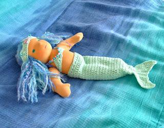 Марина в костюме русалки