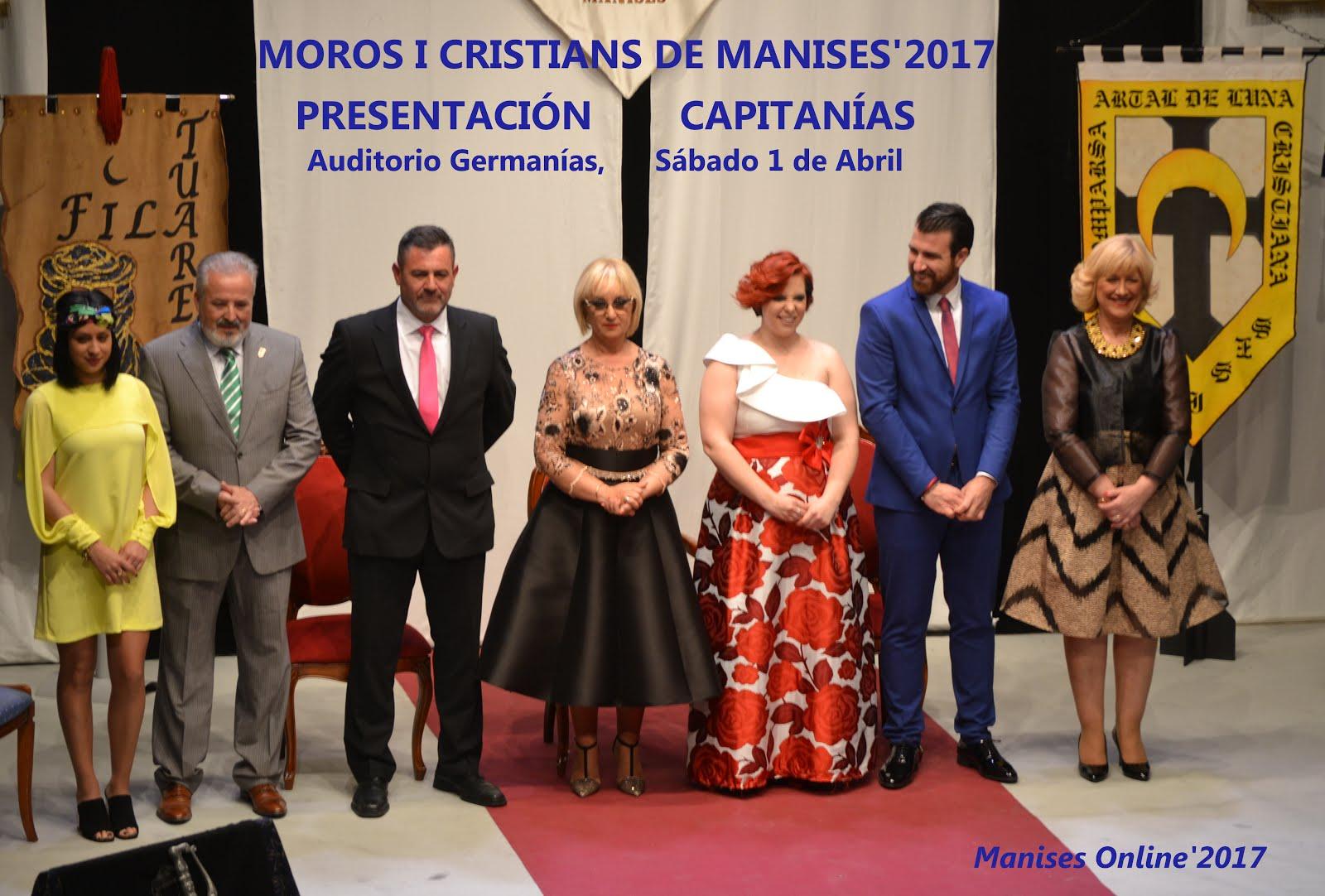 01.04.17 MOROS I CRISTIANS, PRESENTACIÓN DE LAS CAPITA NÍAS MORA Y CRISTIANA 2017