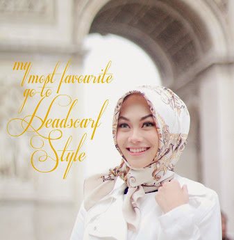 MY MOST FAV / GO-TO HEADSCARF STYLE
