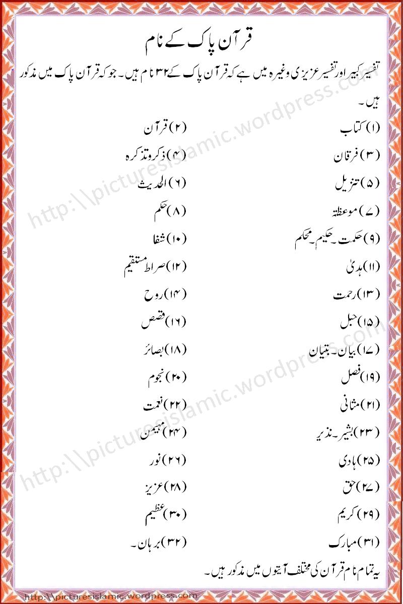 quranic names