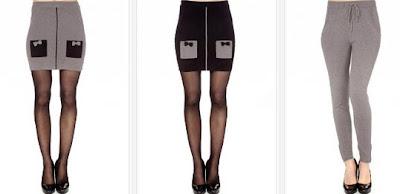 faldas y pantalon