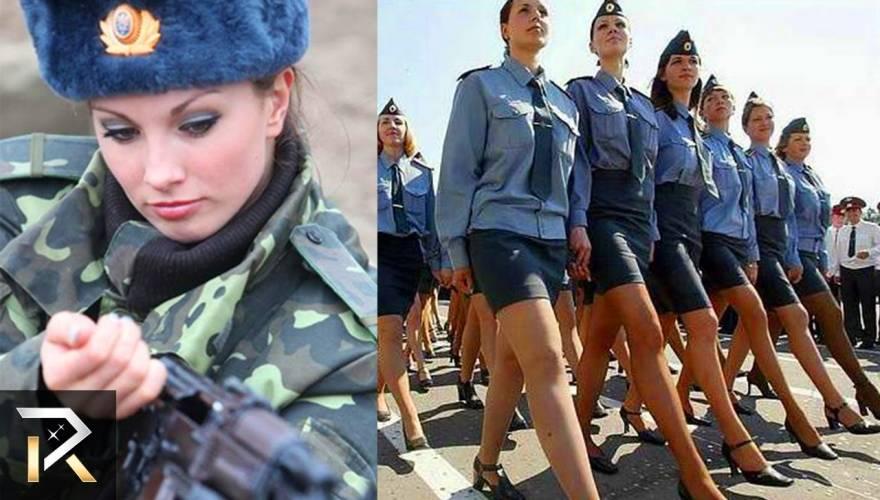 Οι πιο όμορφες γυναίκες στις Ένοπλες Δυνάμεις απ' όλον τον κόσμο (βίντεο)