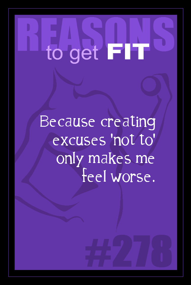 365 Reasons to Get Fit #278