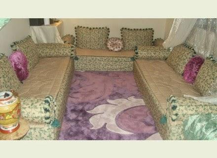 Le boudoir des akhawettes id es de salon de sol majlis - Salon de the orientale ...