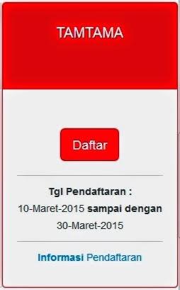Pendaftaran POLRI MARET 2015 Tamtama