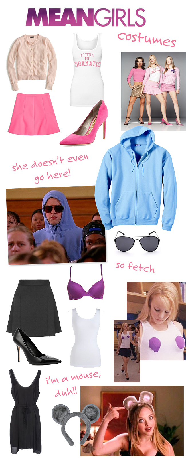 Mean Girls costumes  sc 1 st  Kristina does the Internets & Kristina does the Internets: Mean Girls Costumes