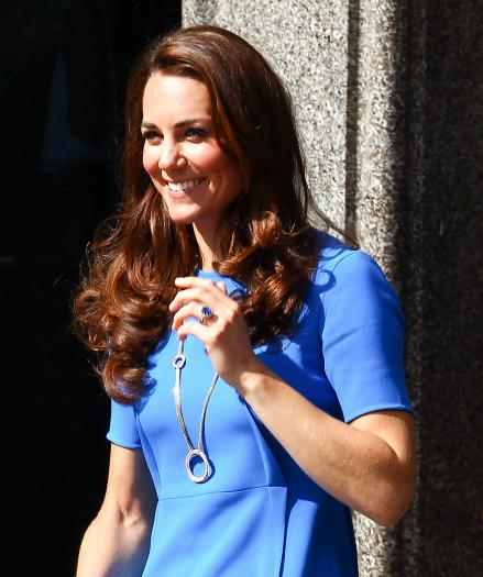 Kate Middleton: A Beauty in Blue, $78,000 Necklace » Gossip | Kate Middleton