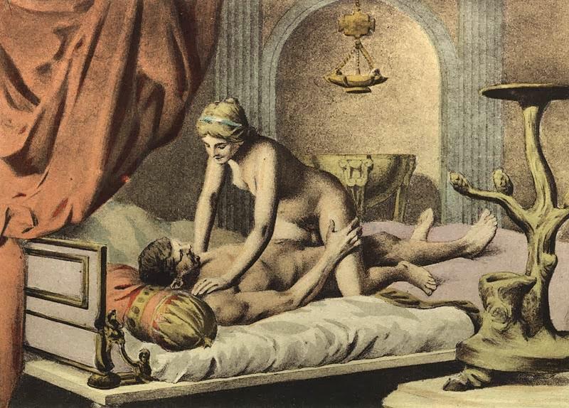 Французское историческое порно