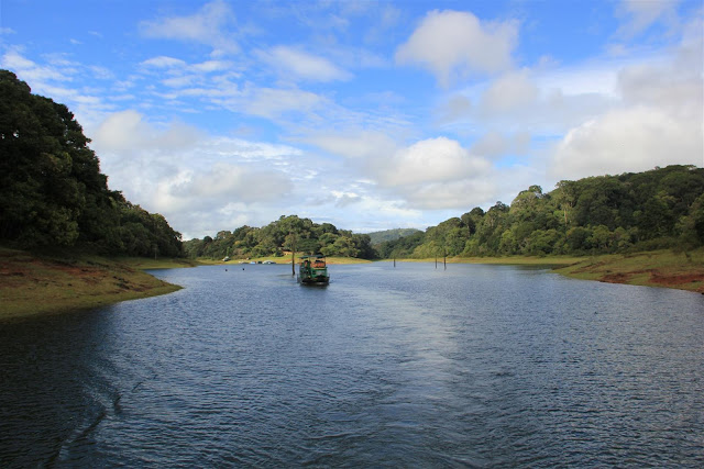 Boating at Periyar Tiger Reserve