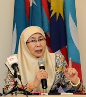 Presiden KEADILAN, Dato' Seri Dr Wan Azizah Wan Ismail