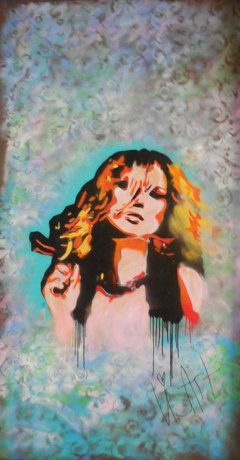 Femme Fierce take over croydon street art