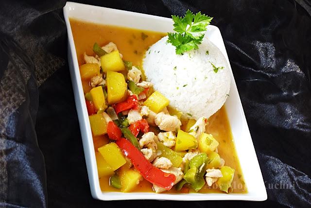 Potrawka dyniowa z ryżem Lestello