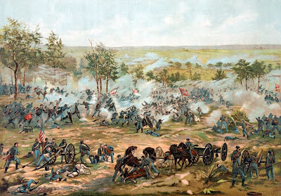 Battle of Gettysburg, Civil War, 1863