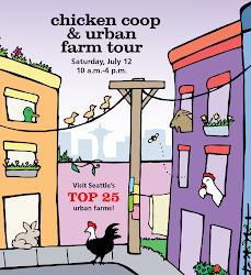 Seattle Tilth Chicken Coop Tour!