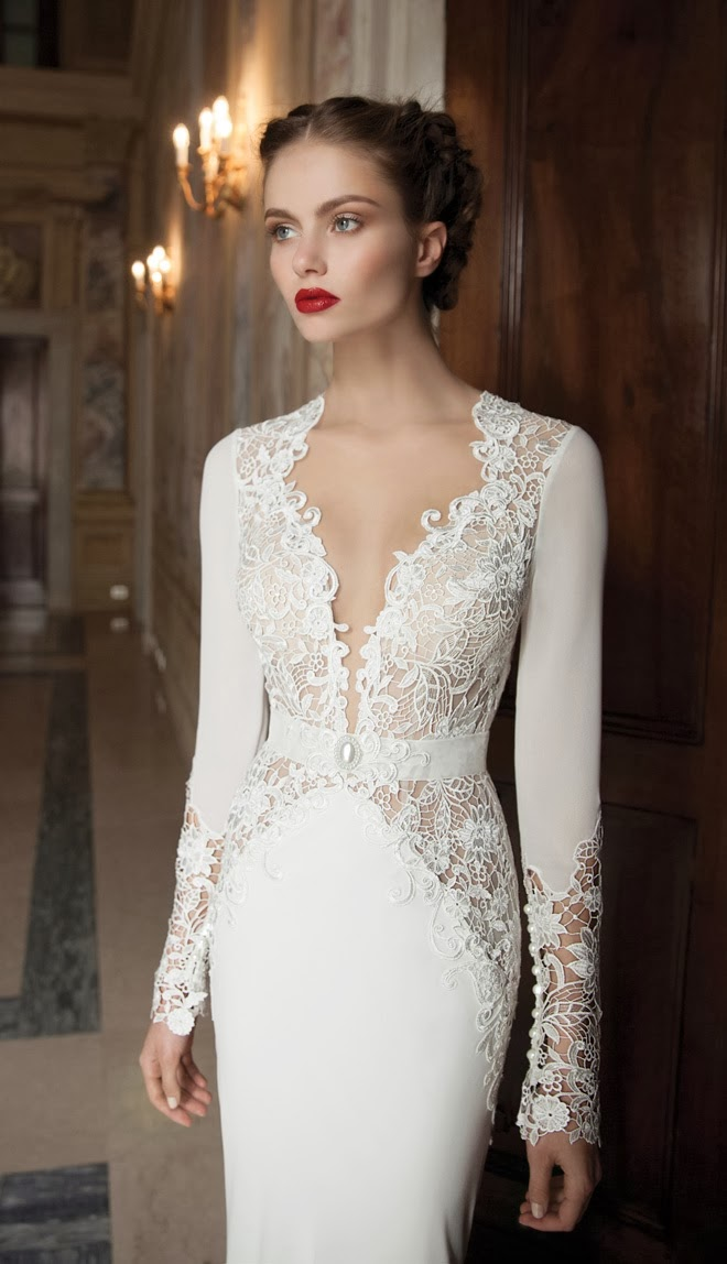 Berta bridal winter 2014 collection part 2 luxury passion for Berta wedding dress 2014