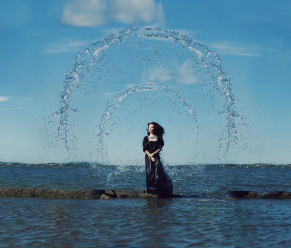 katerina plotnikova fotografia surreal mulheres natureza país das maravilhas Água