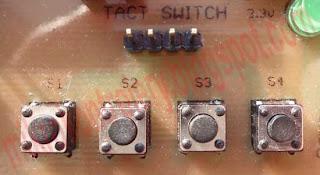 Widok modułu przycisków.