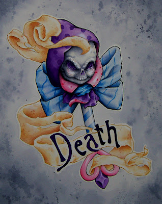 Death Rattle Painting