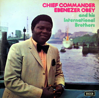 Chief Commander Ebenezer Obey and hisInternational Brothers Band - in London, vol.3,Decca West Africa 1972
