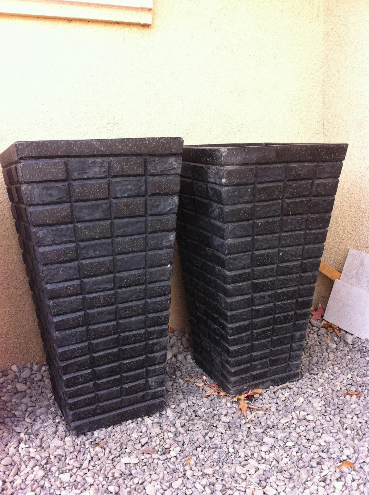 Manargus maceteros jardineras y macetas cemento granito - Jardineras de cemento ...