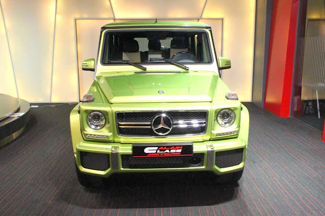 g 63 amg designo green