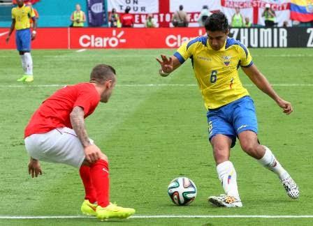 Swiss vs Ekuador