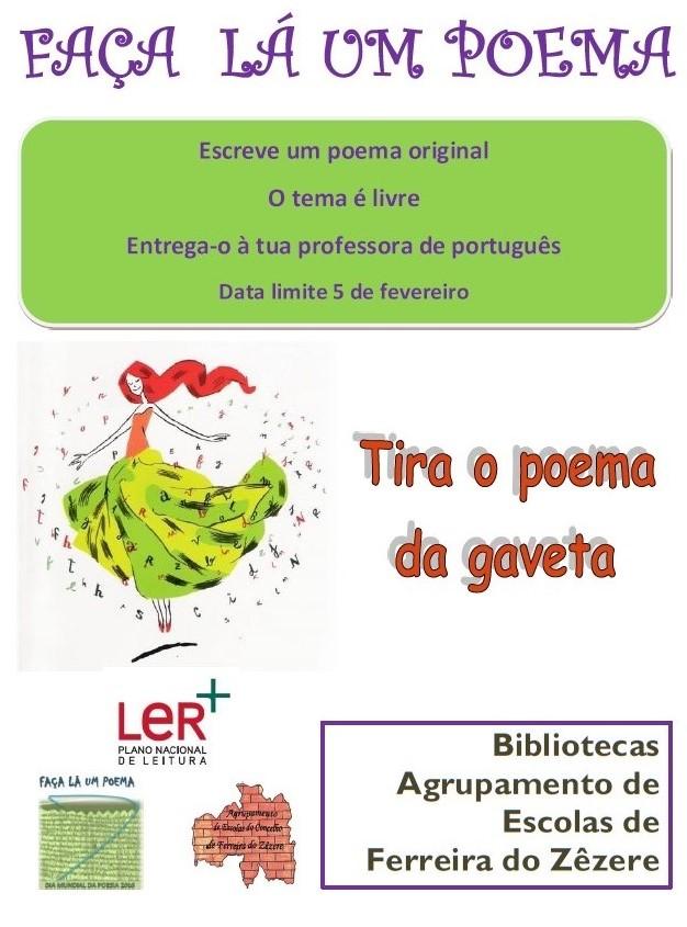 """Concurso """"Faça lá um Poema"""""""