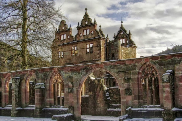15TH CENTURY MONASTERY, BLACK FOREST, GERMANY