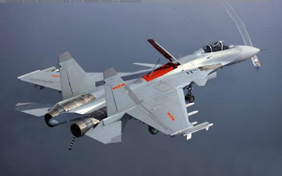 China's J-15 Deck Fighter Jet
